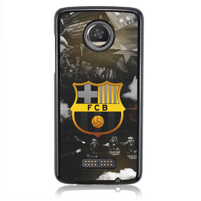 FC BARCELONA WALLPAPER J0216 Motorola Moto Z2 Play Case