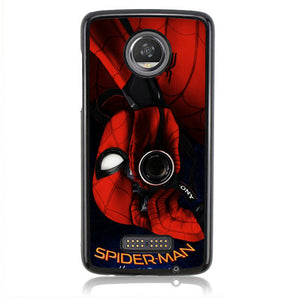 SPIDERMAN HOMECOMING TAKE A PICTURE J0224 Motorola Moto Z2 Play Case