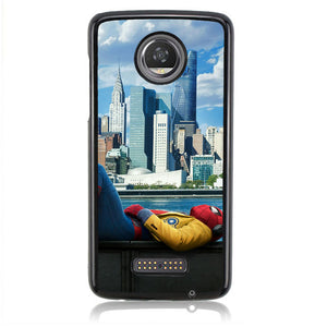 SPIDERMAN AVANGERS TOWER J0226 Motorola Moto Z2 Play Case