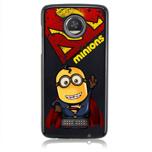MINION SUPERHERO J0020 Motorola Moto Z2 Play Case