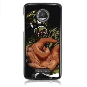 Bape Tumblr Wallpaper J0110 Motorola Moto Z2 Play Case