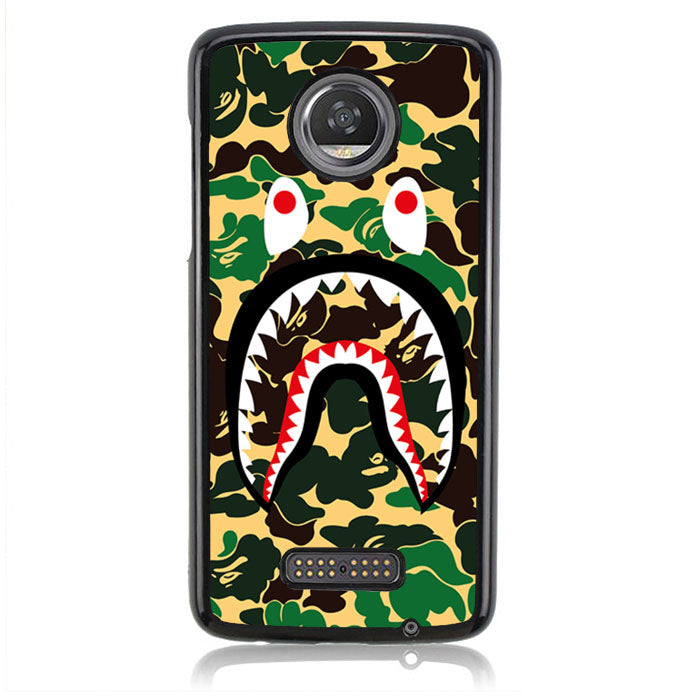 Bathing Ape Shark J0115 Motorola Moto Z2 Play Case