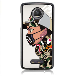 Kids Bape J0126 Motorola Moto Z2 Play Case