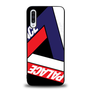 Palace Logo Wallpaper J0130 Samsung Galaxy A50 Case
