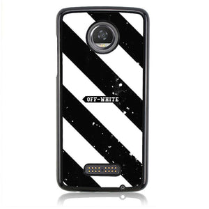 Off White LOGO J0139 Motorola Moto Z2 Play Case