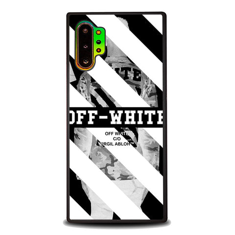 Off White Wallpaper J0140 Samsung Galaxy Note 10 Plus Case
