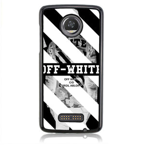 Off White Wallpaper J0140 Motorola Moto Z2 Play Case
