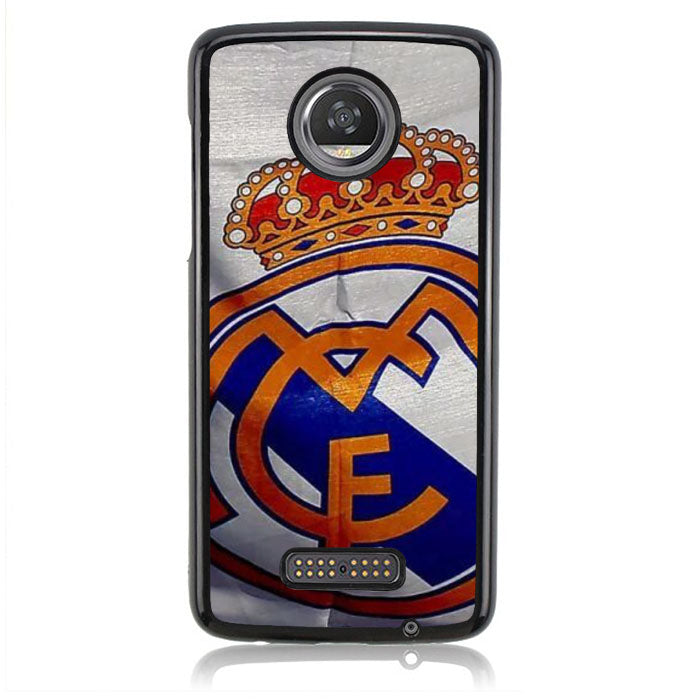 Real Madrid J0194 Motorola Moto Z2 Play Case