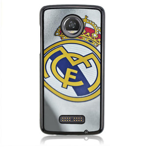 Real Madrid Logo J0195 Motorola Moto Z2 Play Case