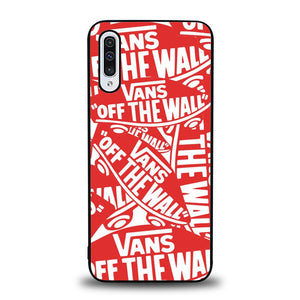Vans Of The Wall Sticker Pattern J0204 Samsung Galaxy A50 Case