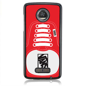 Vans Shoes RED J0206 Motorola Moto Z2 Play Case