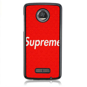 Supreme X Louis Vuiton J0239 Motorola Moto Z2 Play Case