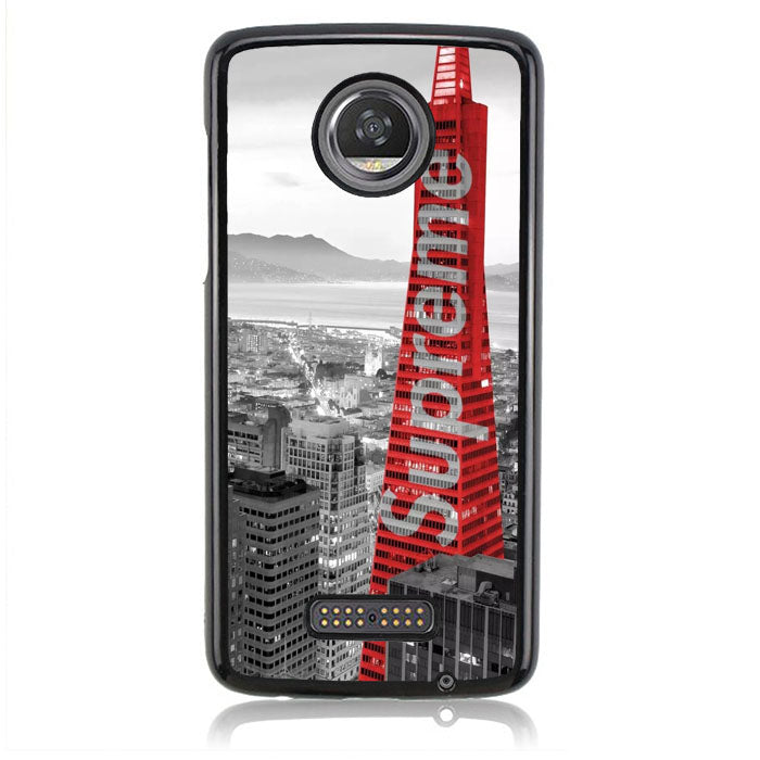 Supreme Building J0241 Motorola Moto Z2 Play Case