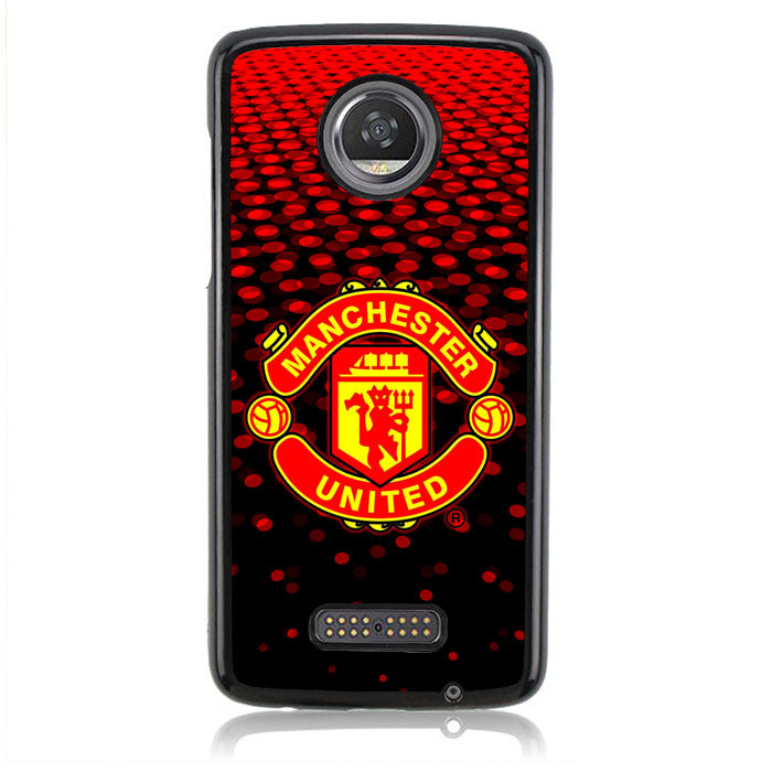Manchester United Red J0260 Motorola Moto Z2 Play Case