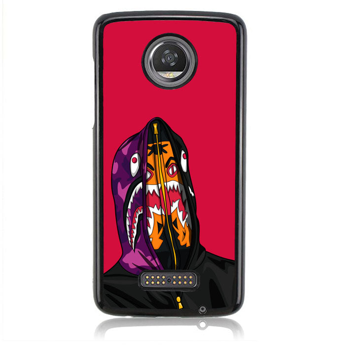 Bape Shark & Tiger J0276 Motorola Moto Z2 Play Case