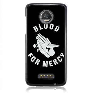 BLOOD FOR MERCY YELLOW CLAW J0309 Motorola Moto Z2 Play Case