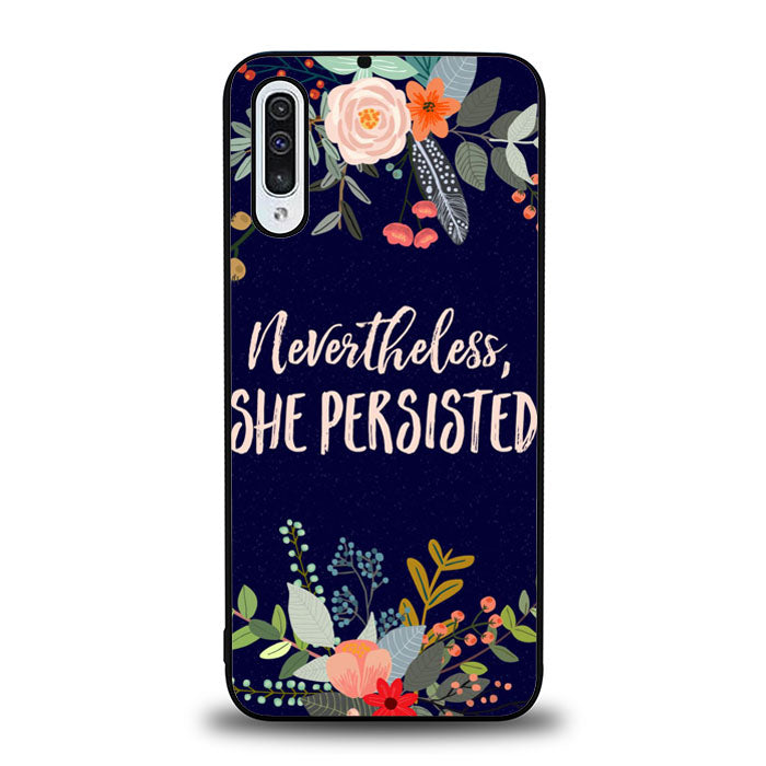 SHE PERSISTED J0337 Samsung Galaxy A50 Case