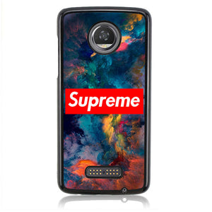 SUPREME ART NEBULA J0338 Motorola Moto Z2 Play Case