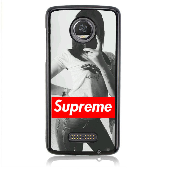 SUPREME GIRL J0340 Motorola Moto Z2 Play Case