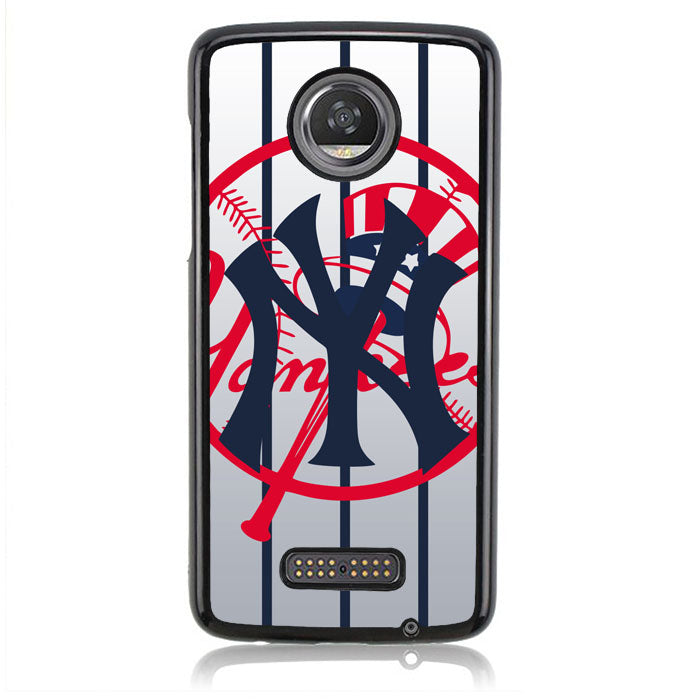 New York Yankees J0360 Motorola Moto Z2 Play Case