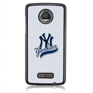 New York Yankees J0361 Motorola Moto Z2 Play Case