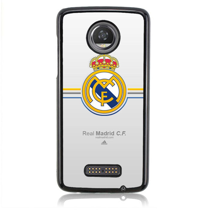 Real Madrid Logo J0382 Motorola Moto Z2 Play Case