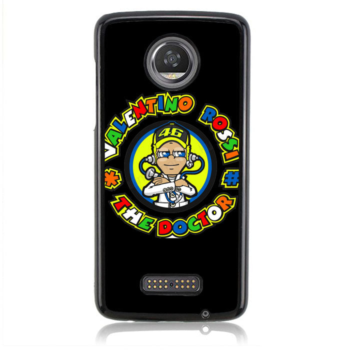 Valentino Rossi The Doctor J0404 Motorola Moto Z2 Play Case