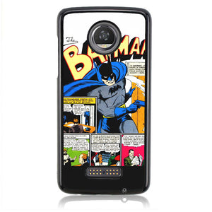 The Batman Comic J0605 Motorola Moto Z2 Play Case