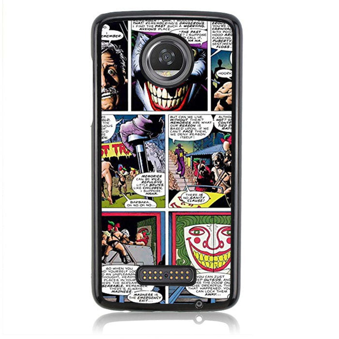 Joker Comic J0614 Motorola Moto Z2 Play Case
