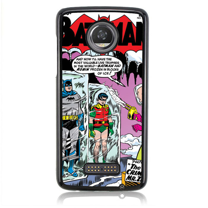 Batman Comic Cover J0619 Motorola Moto Z2 Play Case