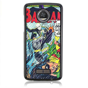 Batman Story Of Comic J0623 Motorola Moto Z2 Play Case