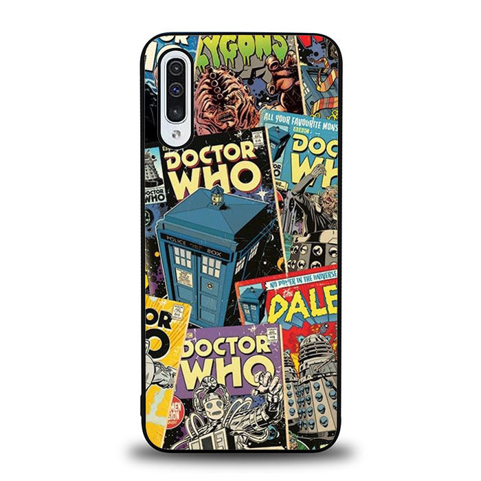 Doctor Who Comic J0627 Samsung Galaxy A50 Case