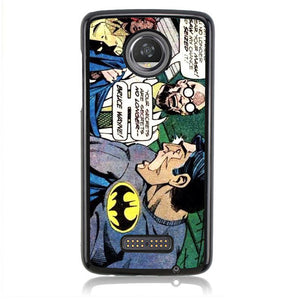 Batman Going Get Mask J0631 Motorola Moto Z2 Play Case