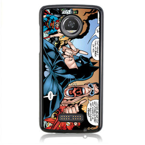 Batman And College J0638 Motorola Moto Z2 Play Case