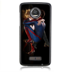 Spiderman Kiss Marry Jane J0640 Motorola Moto Z2 Play Case