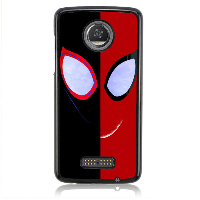Spiderman Black And Red J0644 Motorola Moto Z2 Play Case