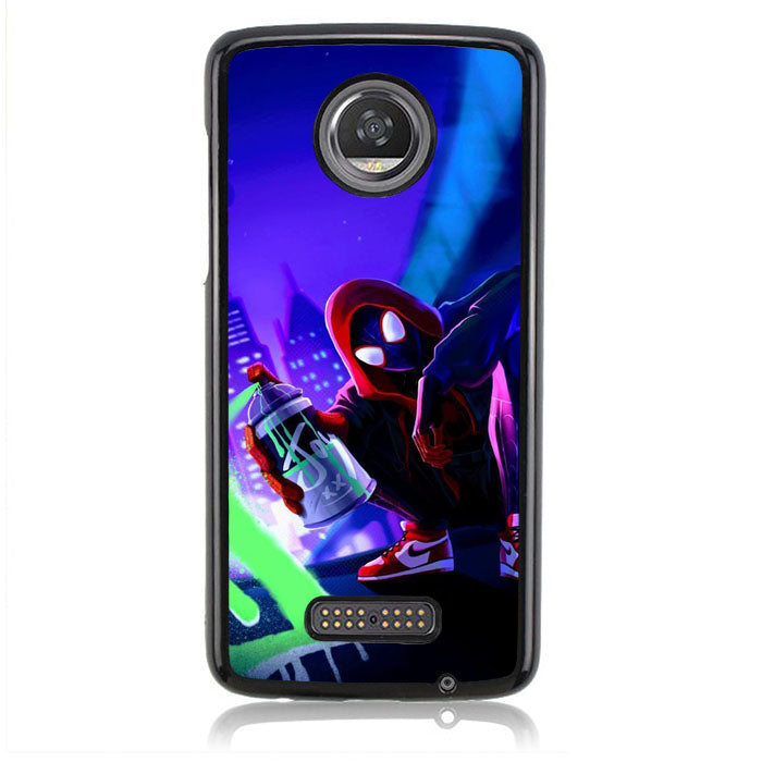 Spiderman Street J0655 Motorola Moto Z2 Play Case