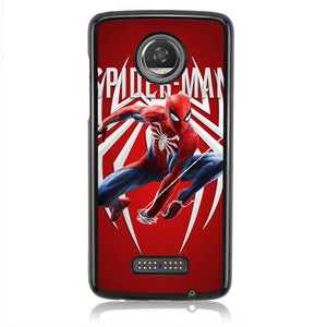 Spiderman Marvel J0668 Motorola Moto Z2 Play Case