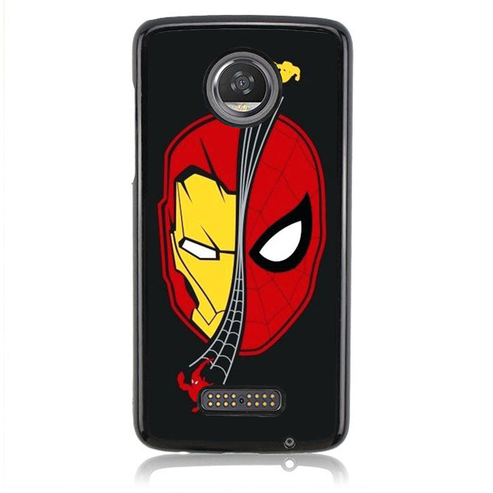 Spiderman Iron Man J0671 Motorola Moto Z2 Play Case