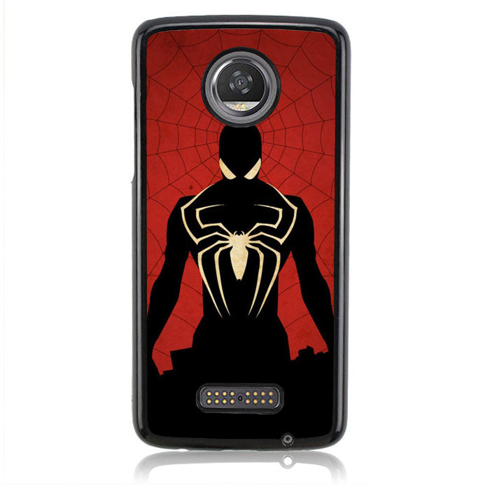 Spiderman Sillouete J0673 Motorola Moto Z2 Play Case
