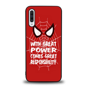 The Great Power Spiderman J0676 Samsung Galaxy A50 Case