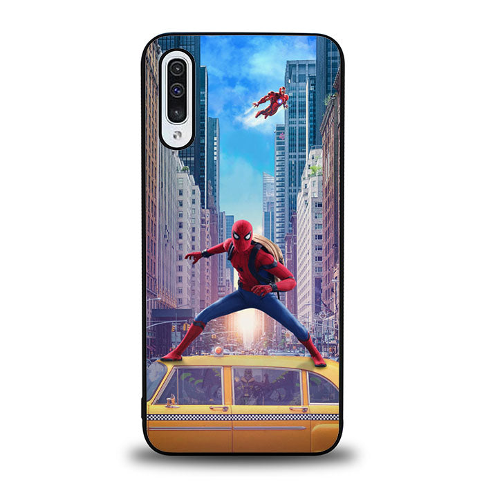 Spiderman Home Coming J0690 Samsung Galaxy A50 Case