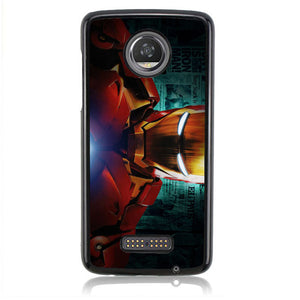 Iron Man J0701 Motorola Moto Z2 Play Case