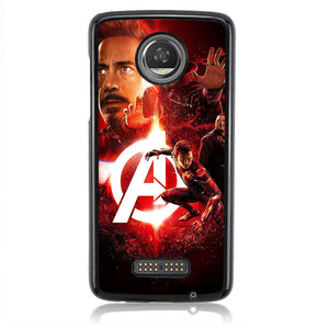 Avengers Iroon Man J0702 Motorola Moto Z2 Play Case