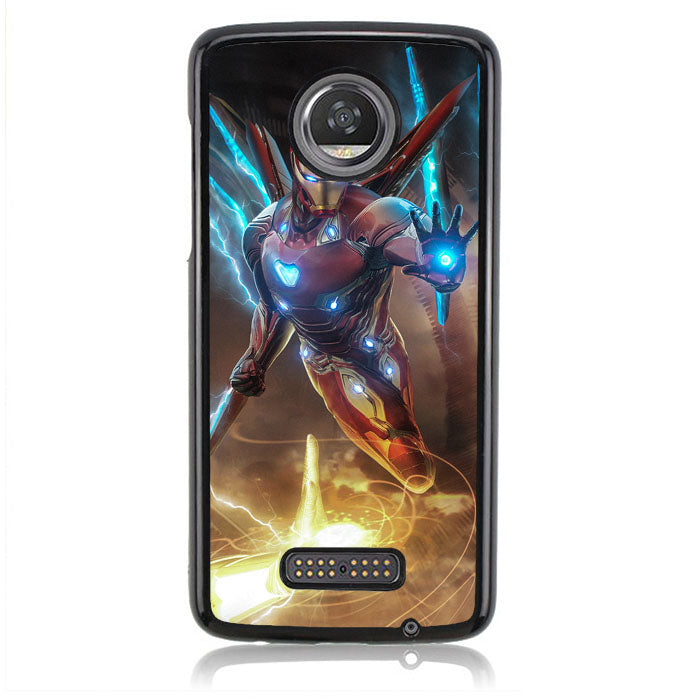 Iron Man Power J0705 Motorola Moto Z2 Play Case