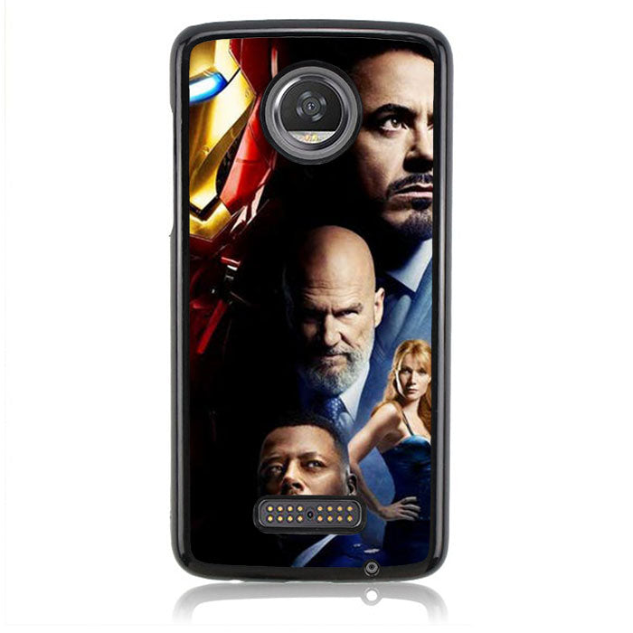 Tony Staarrk Industries J0706 Motorola Moto Z2 Play Case