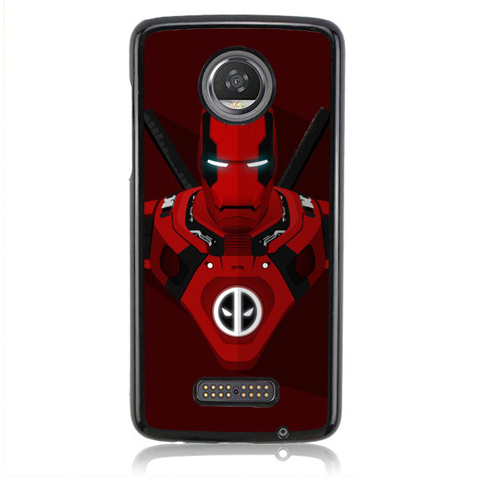Iron Man Deadpool J0708 Motorola Moto Z2 Play Case