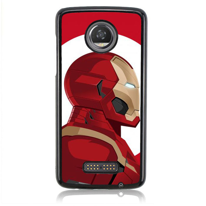 Irron Man Head J0710 Motorola Moto Z2 Play Case