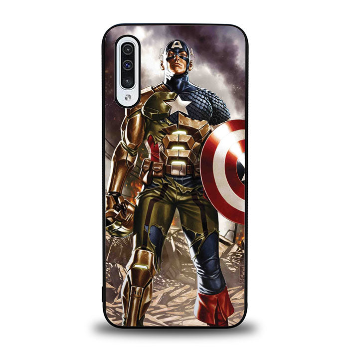 Captain America Iron Man J0717 Samsung Galaxy A50 Case