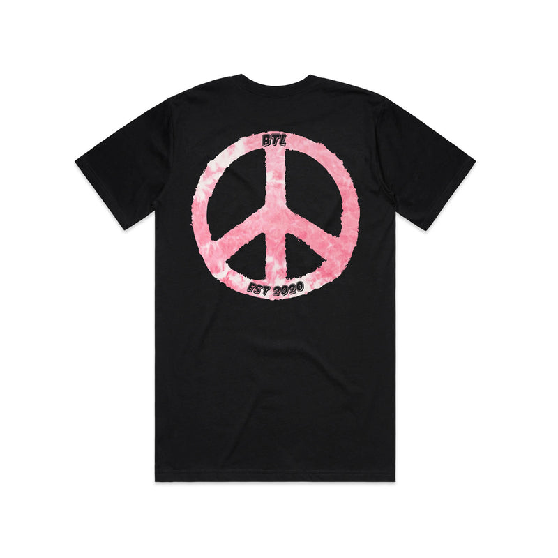 Peace Tee - Pink - ALL PROCEEDS TO LEBANESE RED CROSS